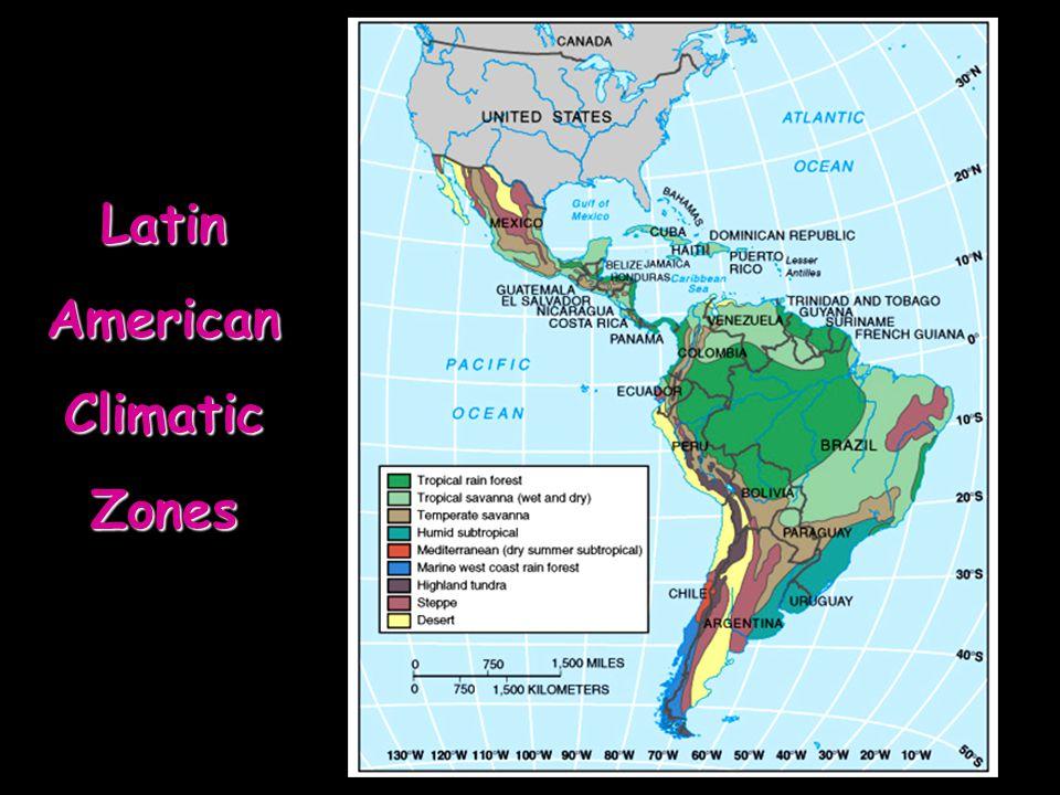 LatinAmericanClimaticZones