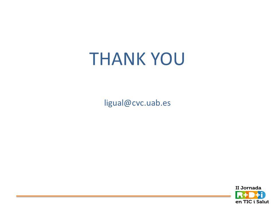 THANK YOU ligual@cvc.uab.es