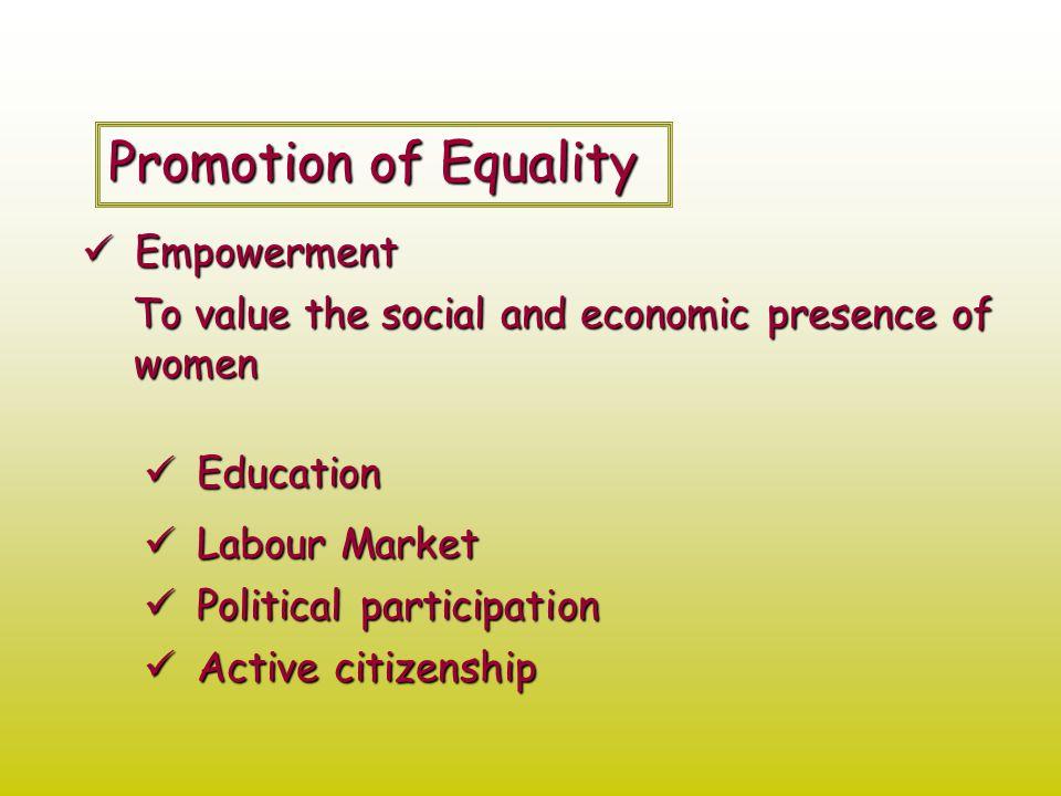 Education Women's level of education evolution (1982-2006) 198220022006 Illiterate72,8569,1968,50 High School Education46,9347,8850,26 Undergraduate Degrees30,5547,8150,35 Graduate DegreesNo data34,1133,39