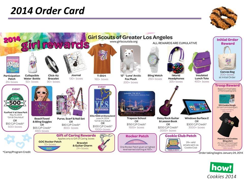 2014 Order Card Cookies 2014