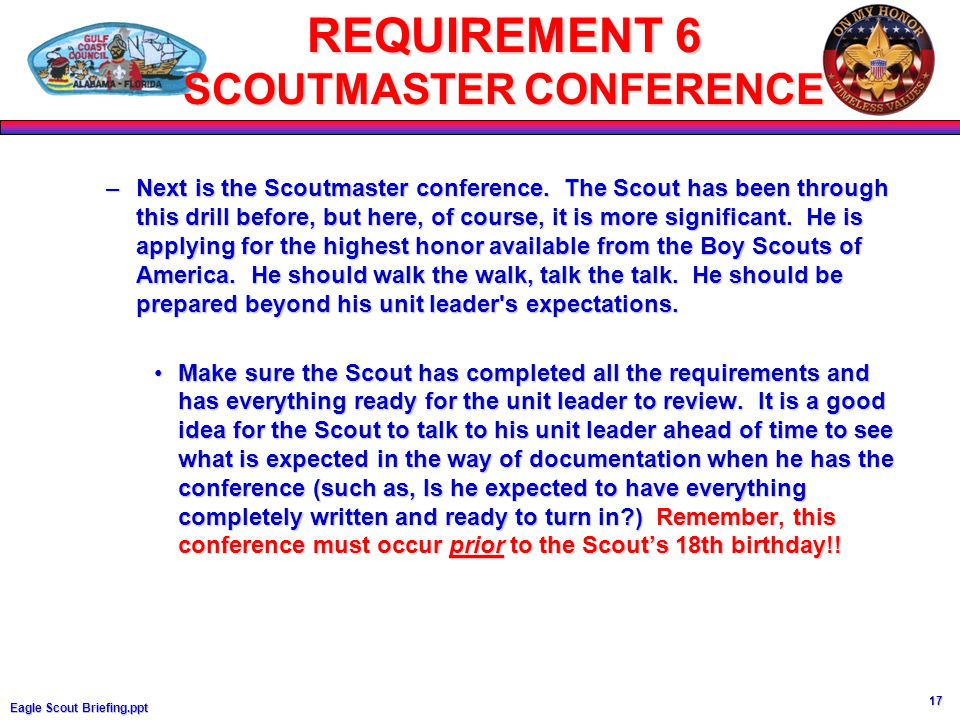 Printables Eagle Scout Requirements Worksheet eagle scout scoutmaster conference worksheet intrepidpath 1 briefing ppt district advancement mittee