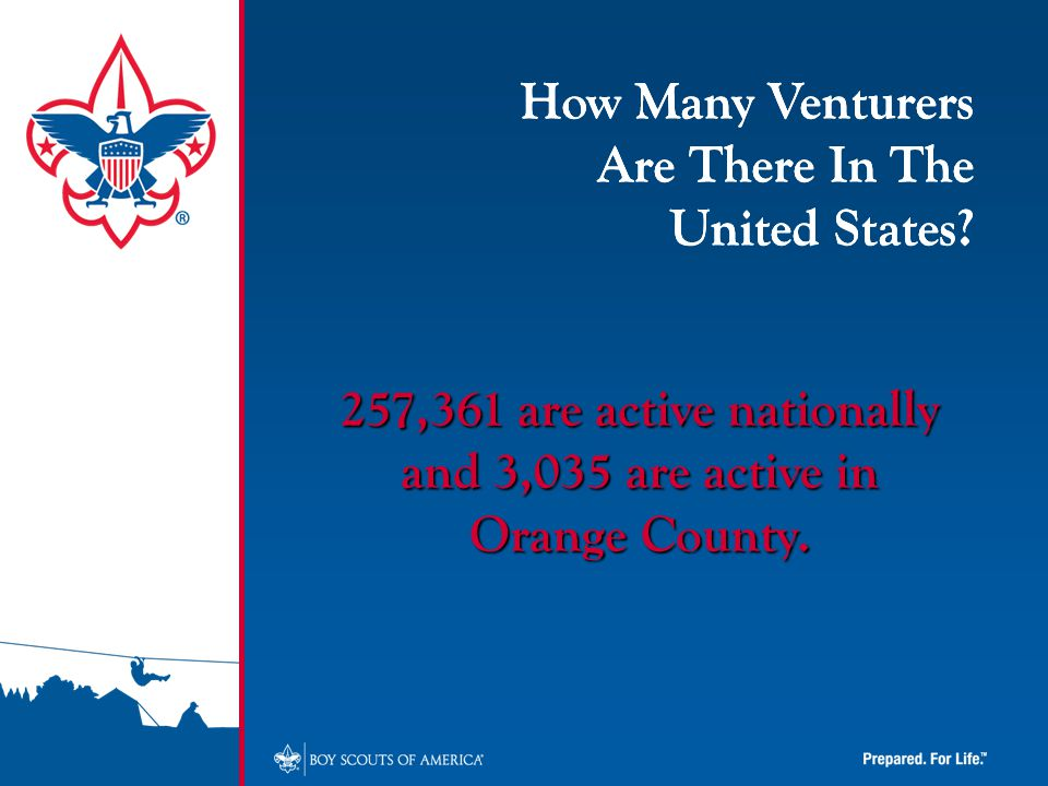 How Many Venturers Are There In The United States.