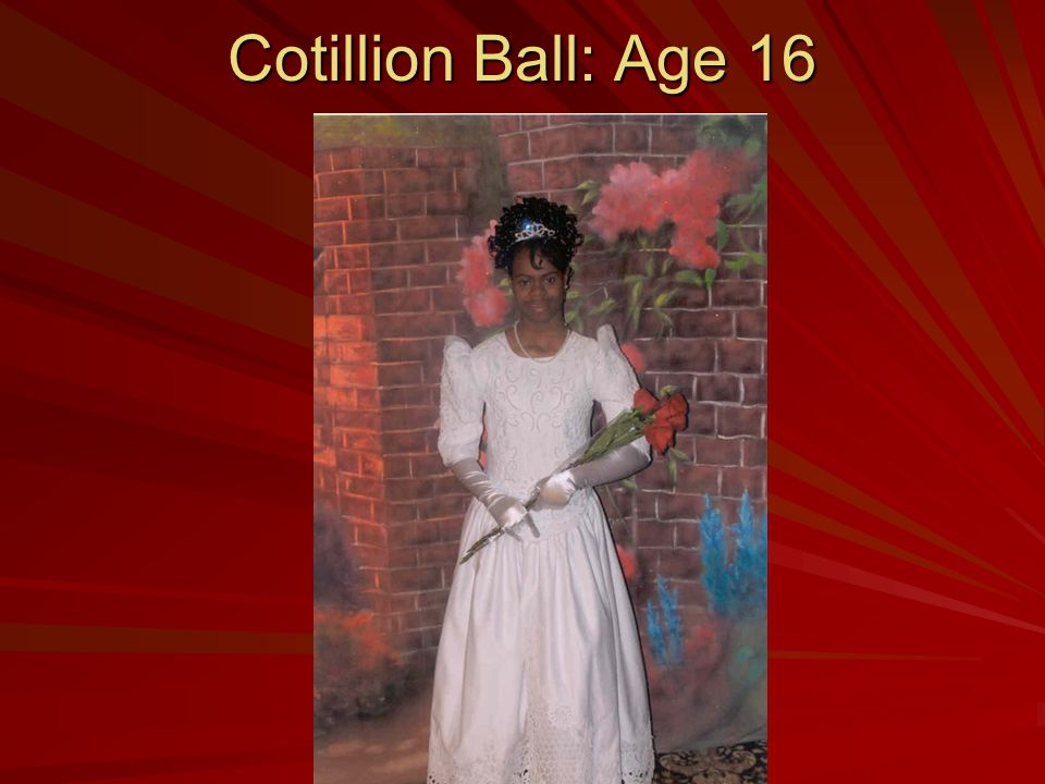 Cotillion Ball: Age 16