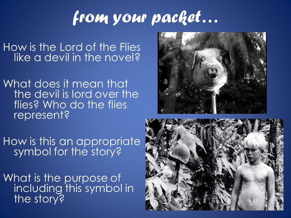 lord of the flies how does Get free homework help on william golding's lord of the flies: book summary, chapter summary and analysis, quotes, essays, and character analysis courtesy of cliffsnotes.