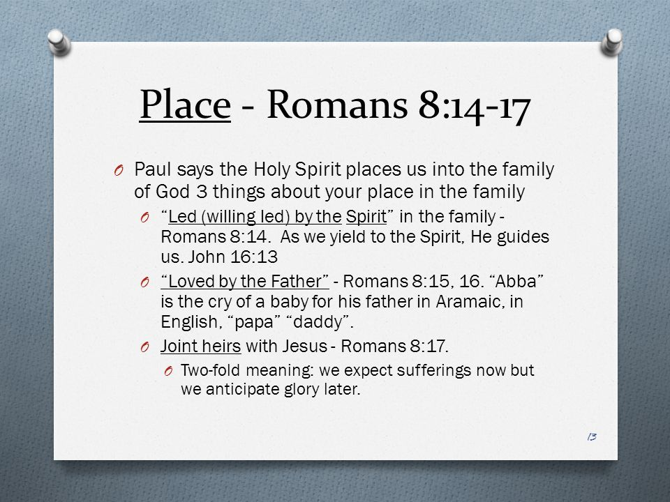 Examples of Paul led by the holy Spirit?