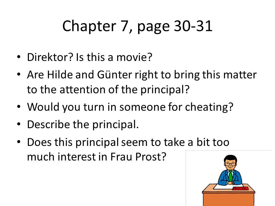 Chapter 7, page Direktor. Is this a movie.