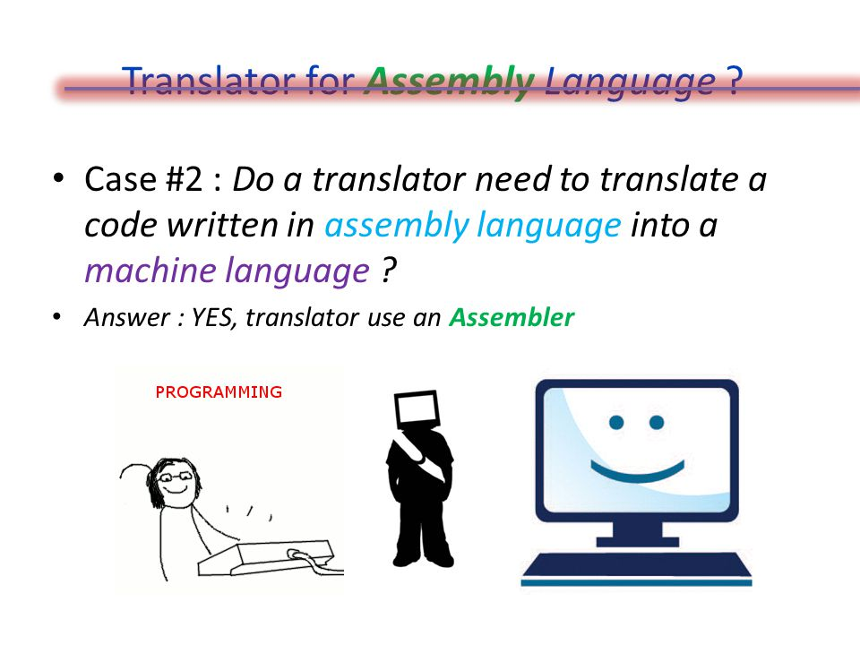 Translator for Assembly Language .