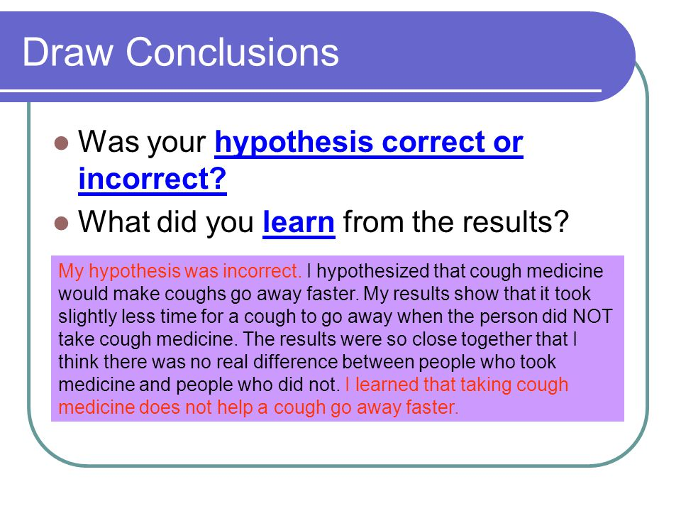 Did i write my hypothesis right?