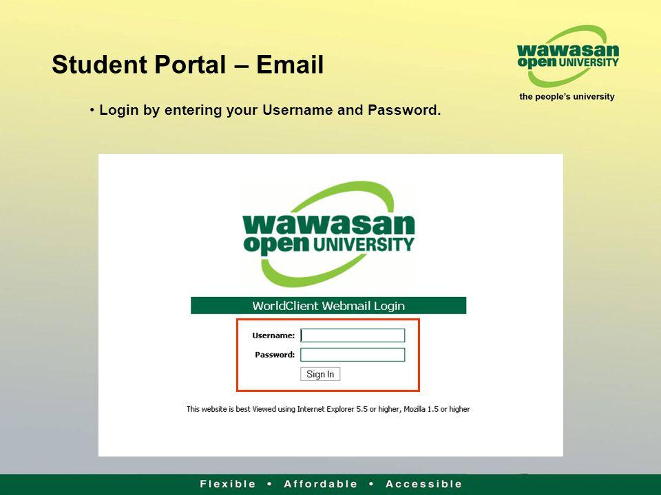 internet login portal