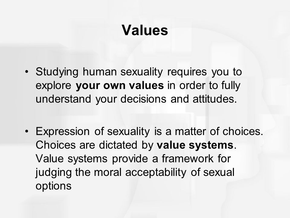 Why Do We Need To Study Human Sexuality