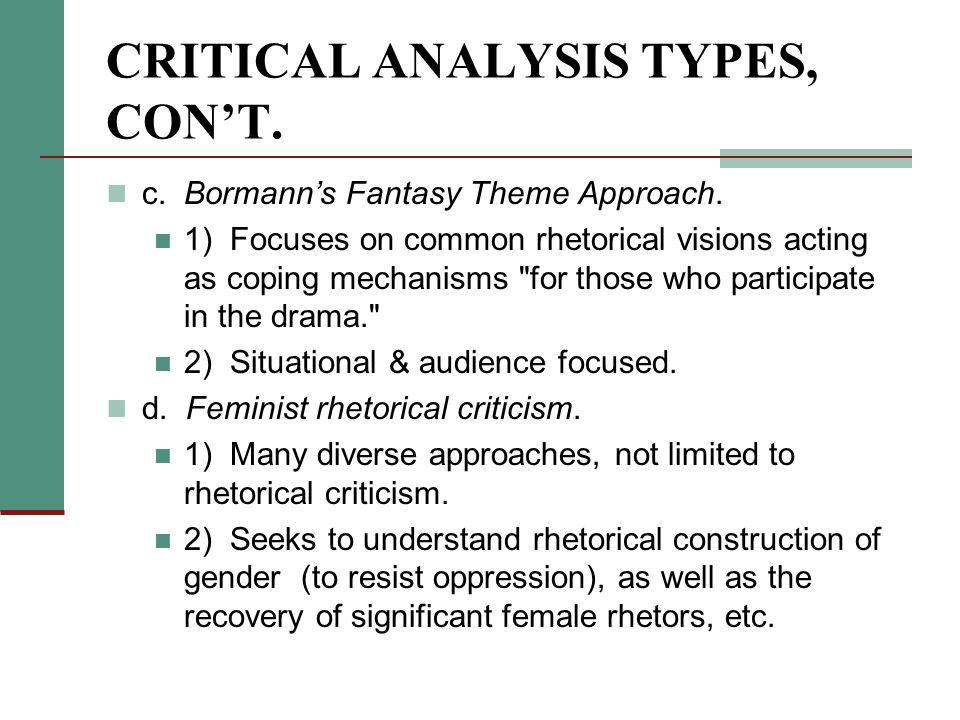 Rhetorical Criticism Examples