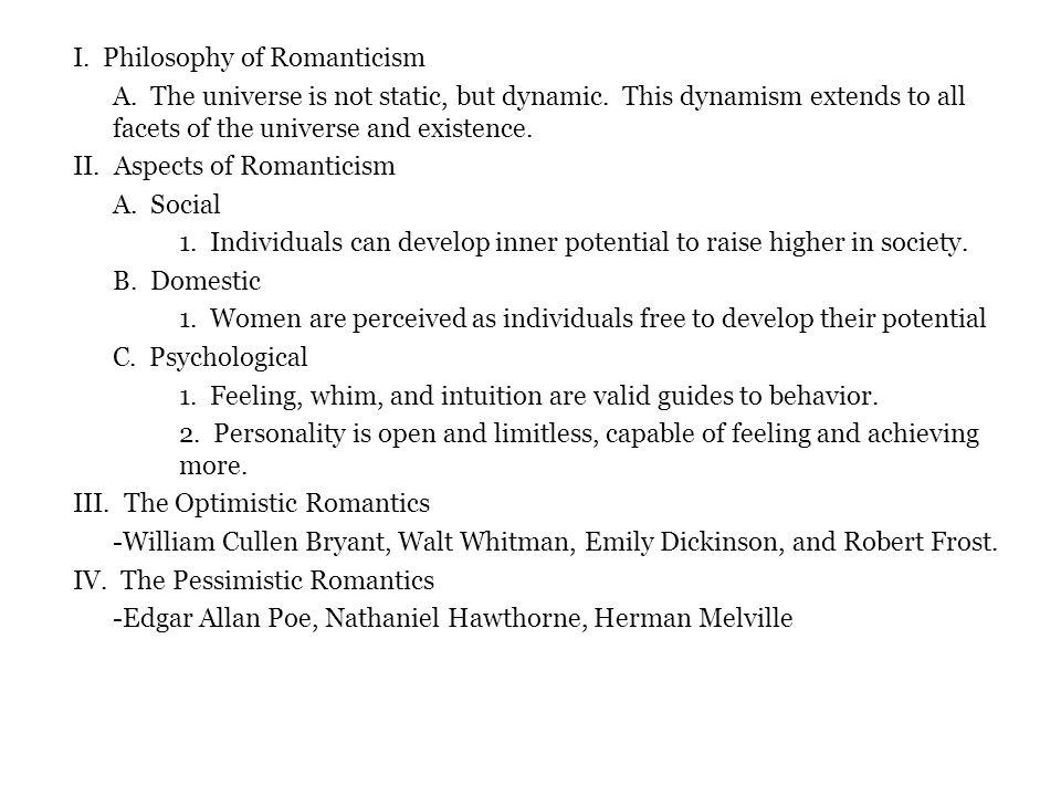 Extension English Creative Writing Romanticism