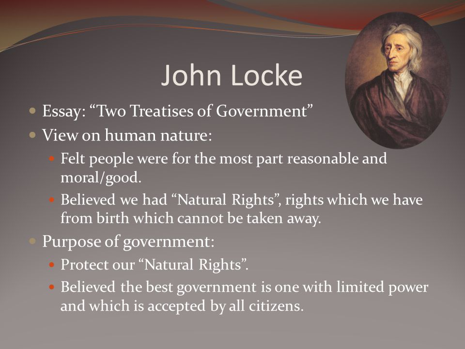 Hobbes, Locke and the State of Nature - E-International Relations