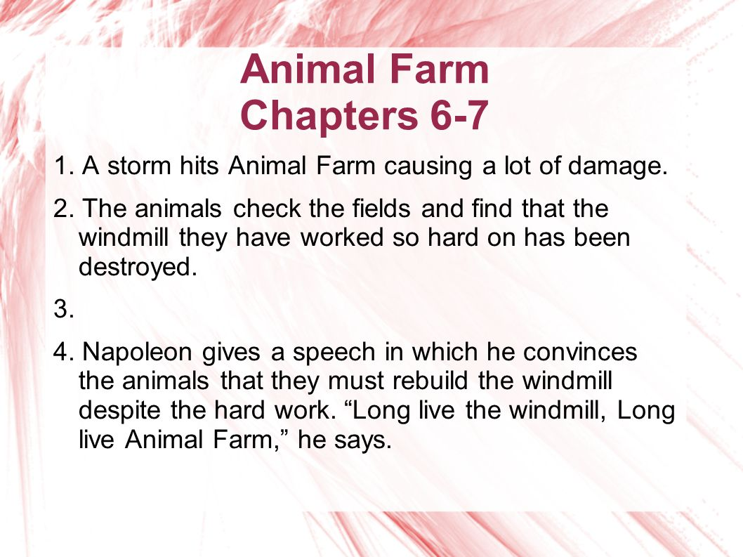 animal farm chapters the animals continue to work all year at 5 animal