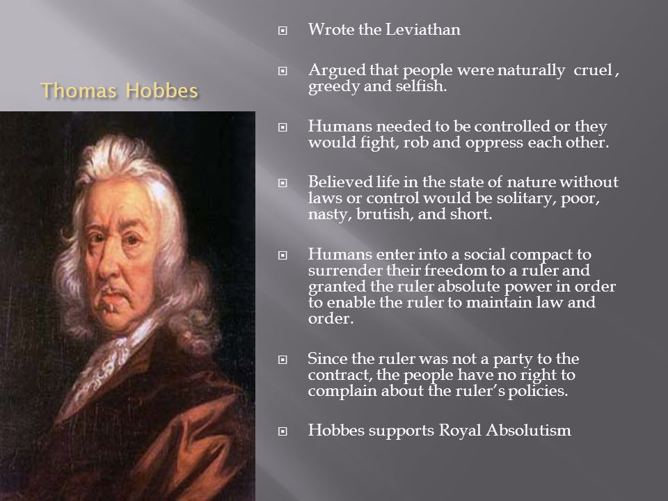thomas hobbes and jean jacques rousseau essay