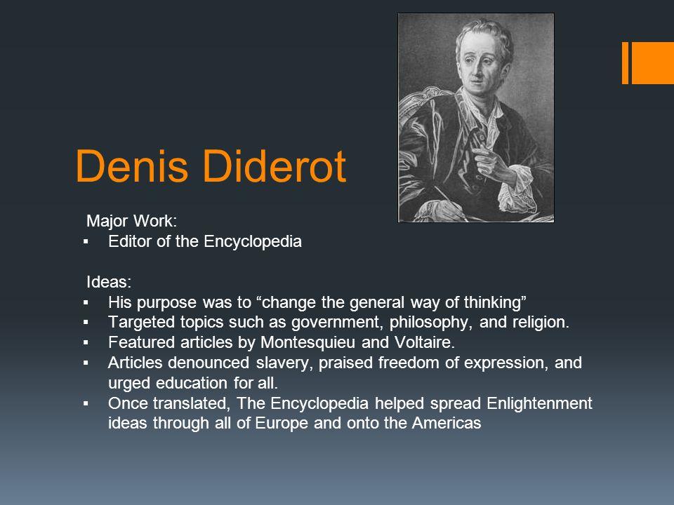 denis diderot education