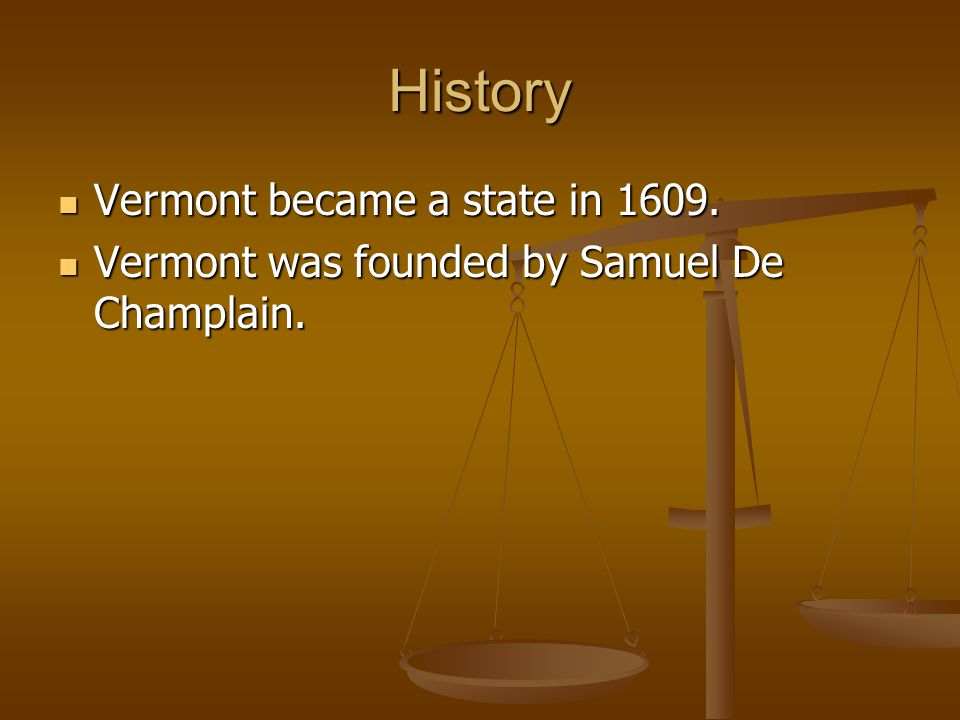History Vermont became a state in Vermont became a state in