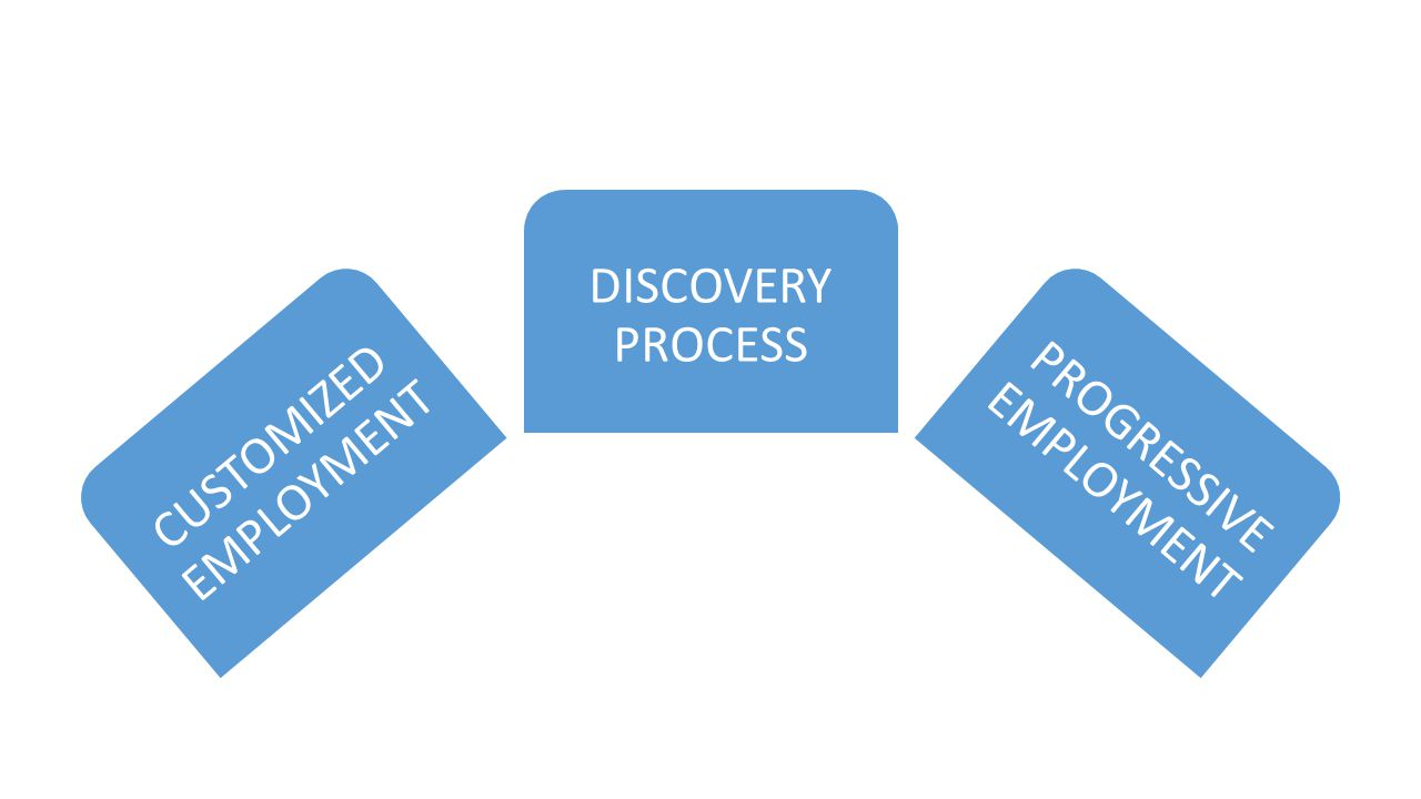 CUSTOMIZED EMPLOYMENT DISCOVERY PROCESS PROGRESSIVE EMPLOYMENT