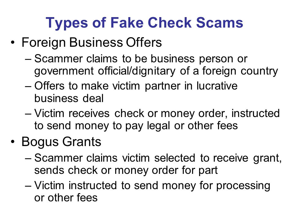 how to make a fake check