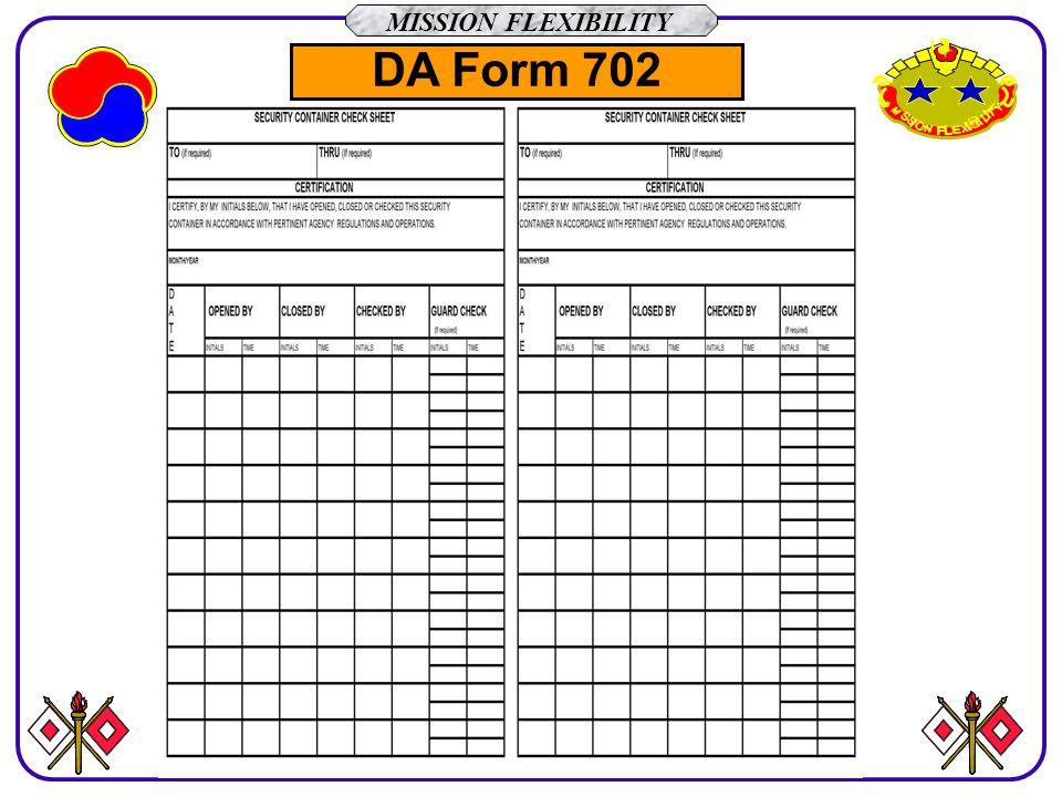 Da Form 702 Tekil Lessecretsdeparis Co