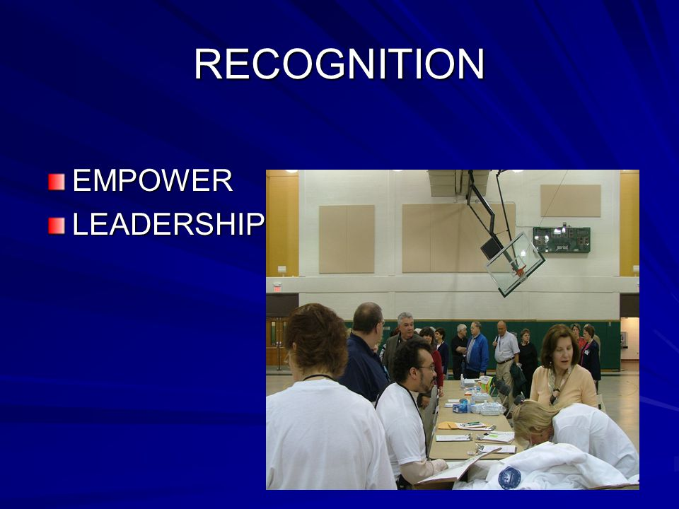 RECOGNITION EMPOWERLEADERSHIP