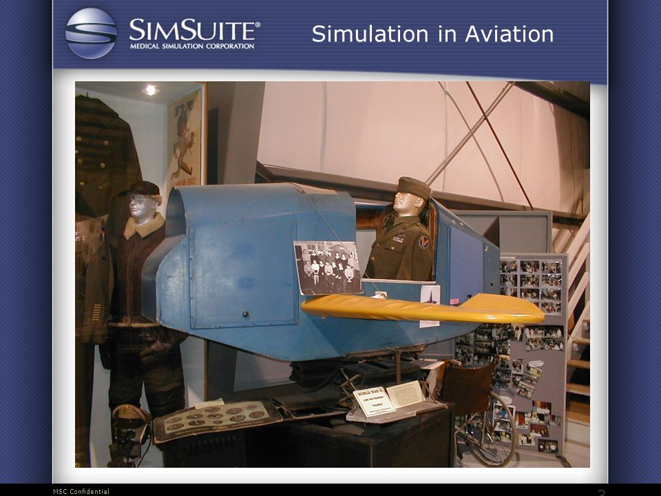 MSC Confidential 3 Simulation in Aviation