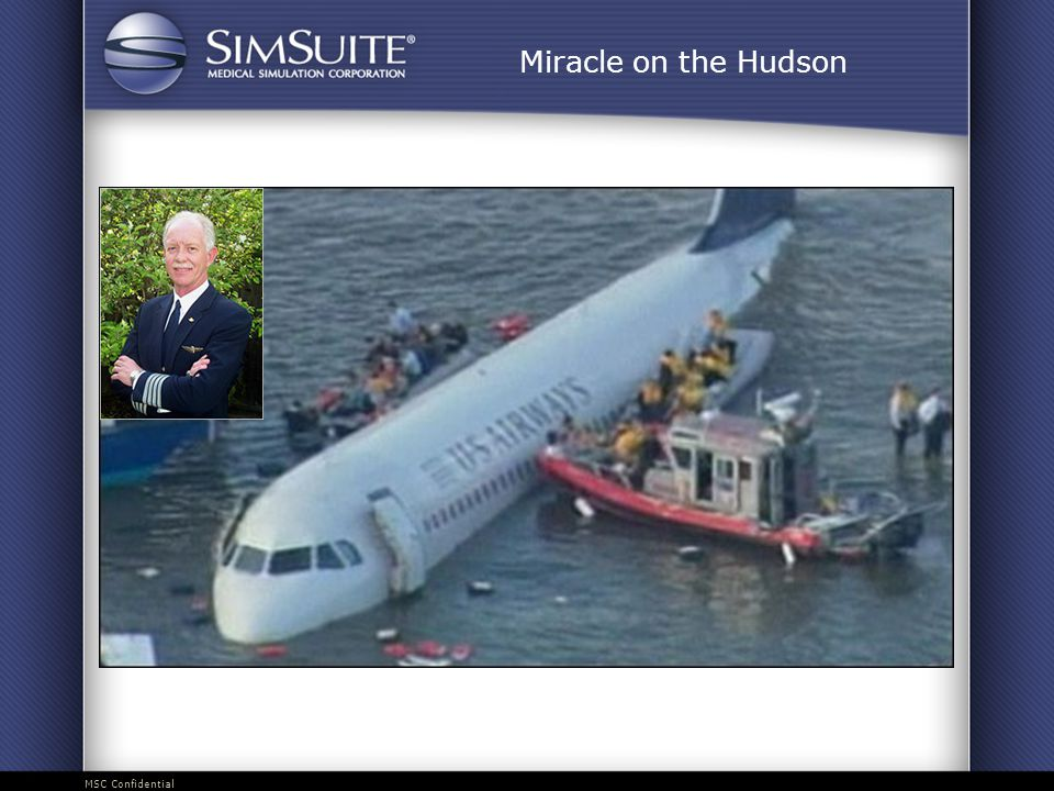 MSC Confidential Miracle on the Hudson