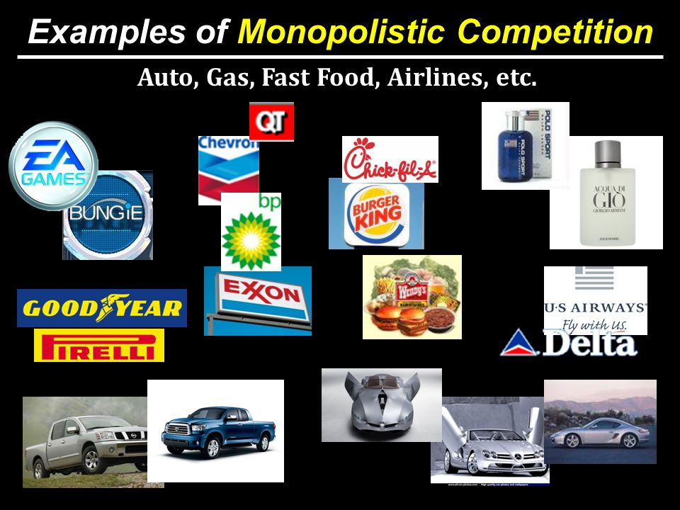 Example Of Monopolistic Competition Images Example Cover Letter