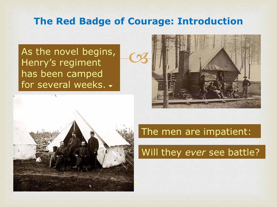 red badge of courage essay introduction