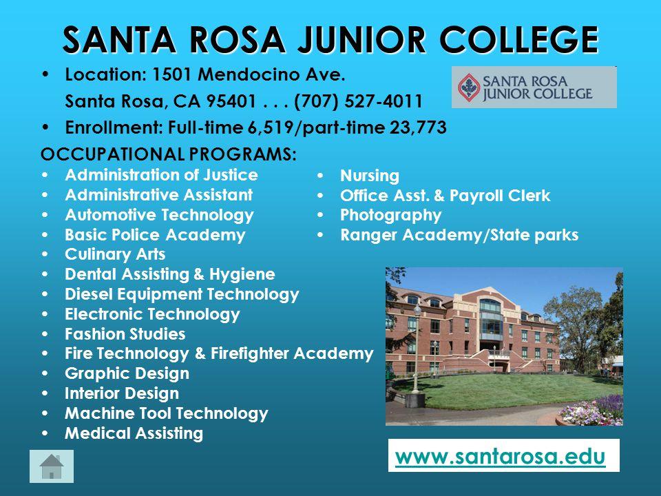 Santa rosa junior college loans