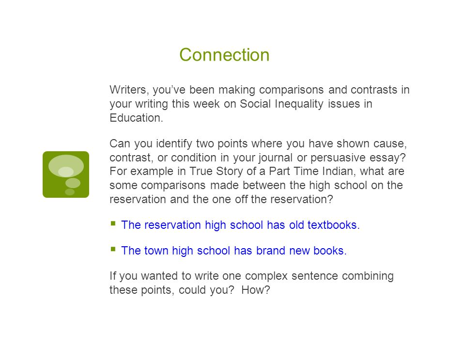 adverb clause mini lesson connection writers you ve been making  2 connection writers