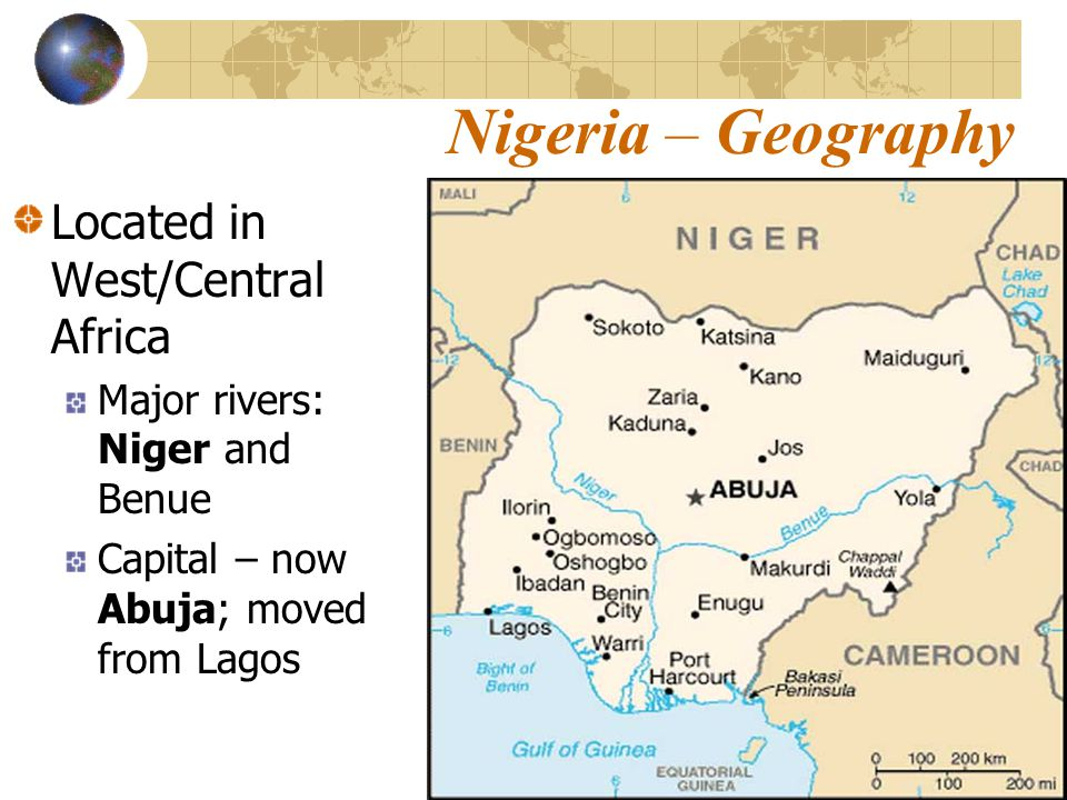 Nigeria An African Nation Case Study