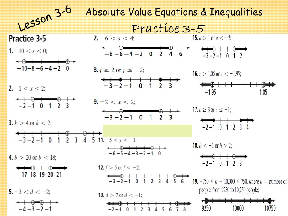 Absolute Value Equations And Inequalities Practice Jennarocca – Absolute Value Inequality Worksheet