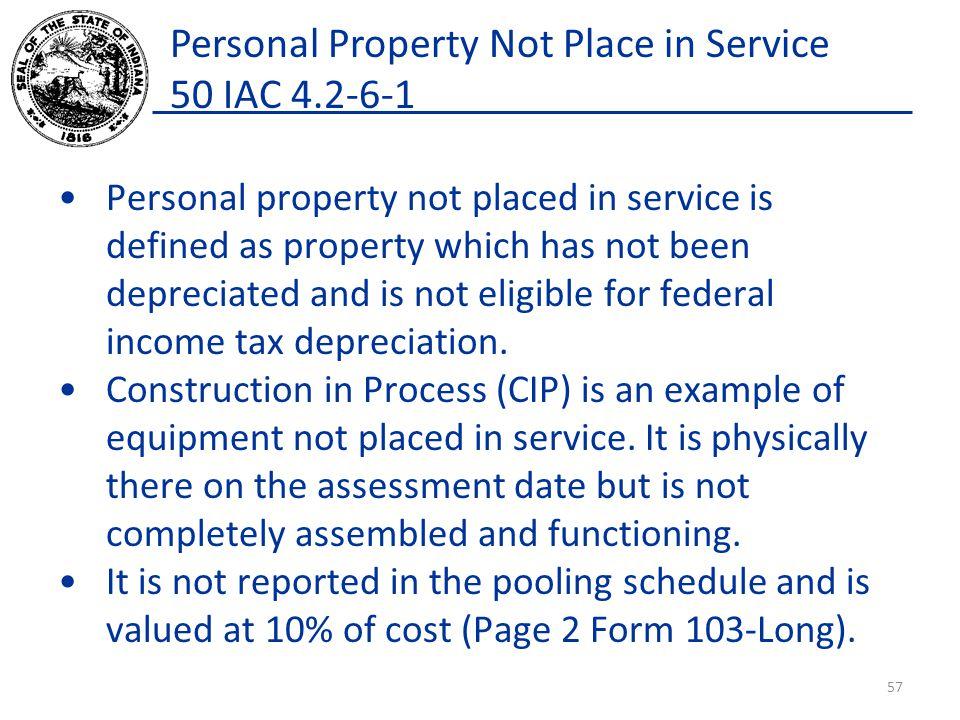 Personal Property March 1, 2014 Steve McKinney Assessment Field ...
