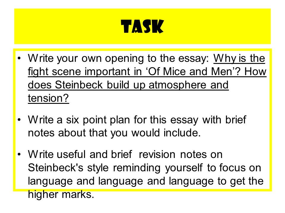 of mice and men essay 2 essay