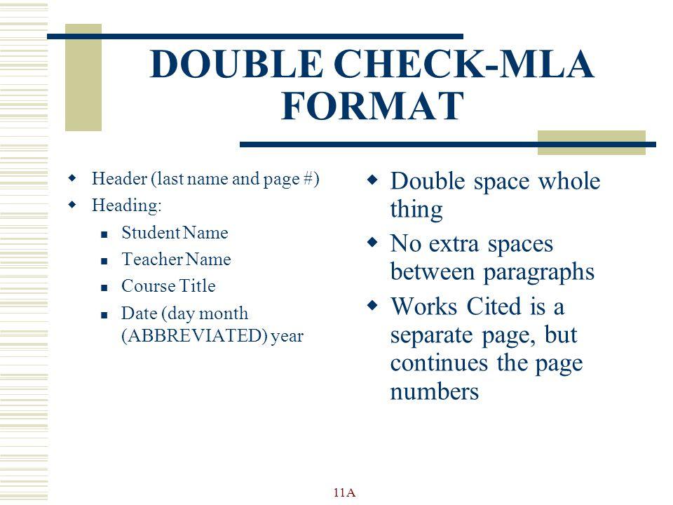 mla format dates