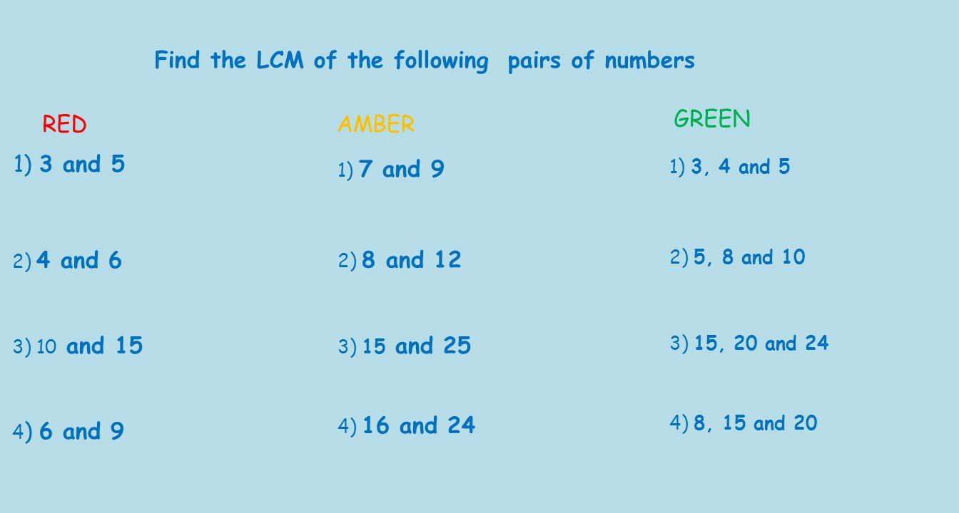 Worksheet Lcm Of 15 And 10 Mikyu Free Worksheet – Multiples of 3 Worksheet