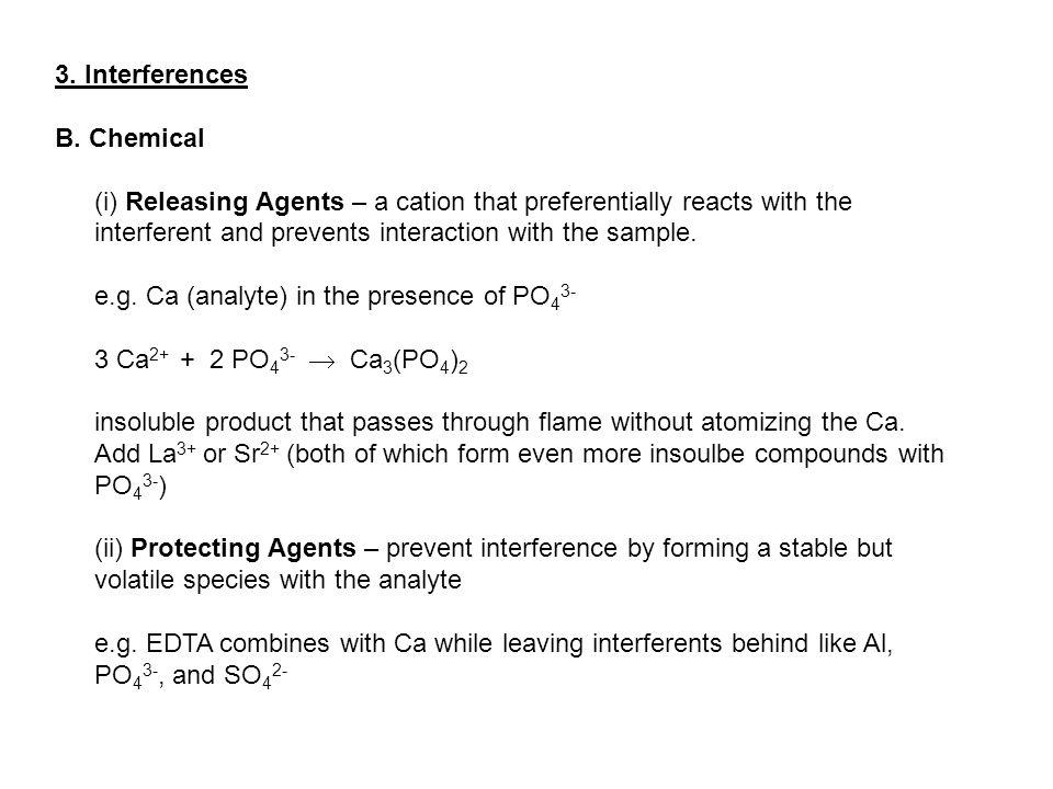 3. Interferences B.