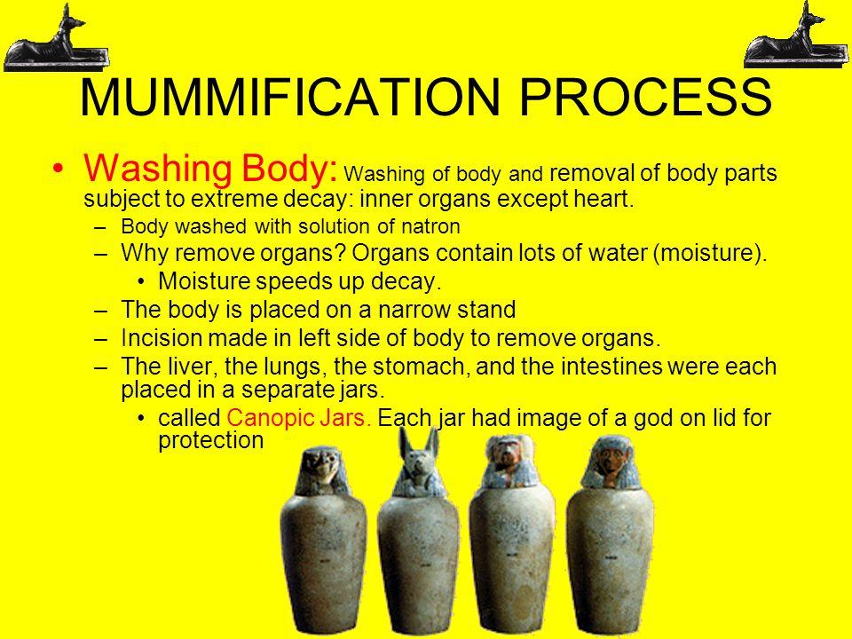 mummifaction process