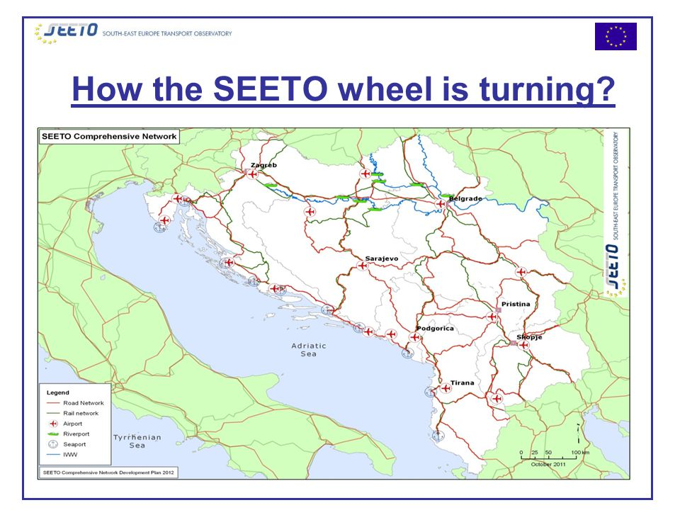 How the SEETO wheel is turning.