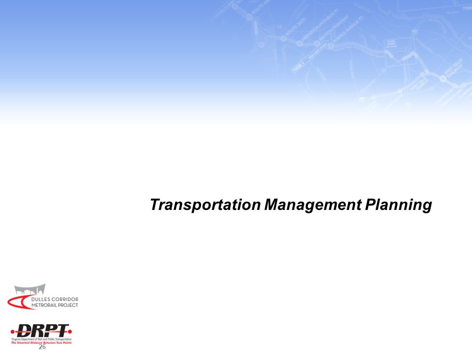 26 Transportation Management Planning