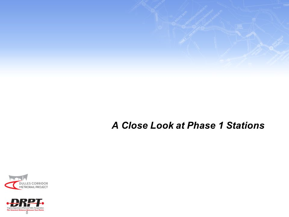 8 A Close Look at Phase 1 Stations