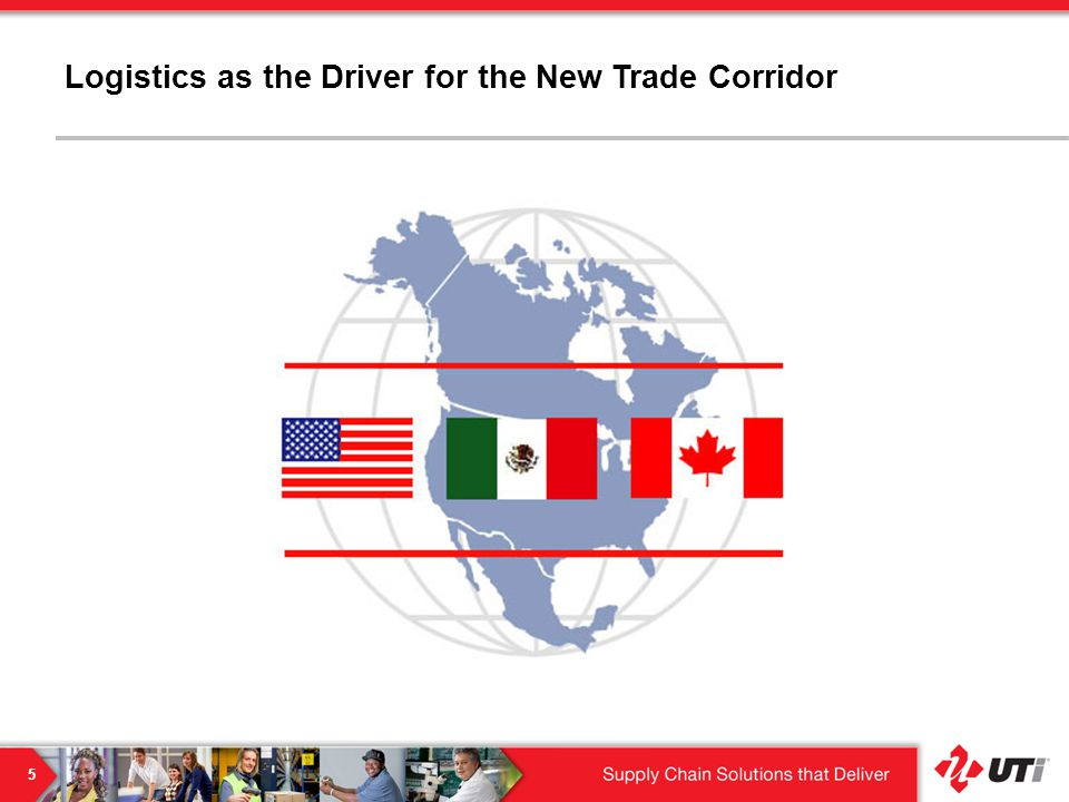 Logistics as the Driver for the New Trade Corridor 5