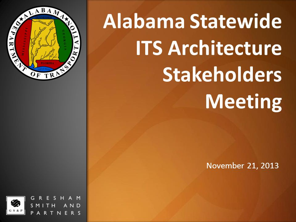 Default Market Images located at S:\template\presentation\images\banners Alabama Statewide ITS Architecture Stakeholders Meeting November 21, 2013