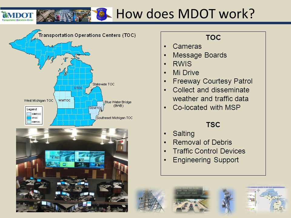 How does MDOT work.