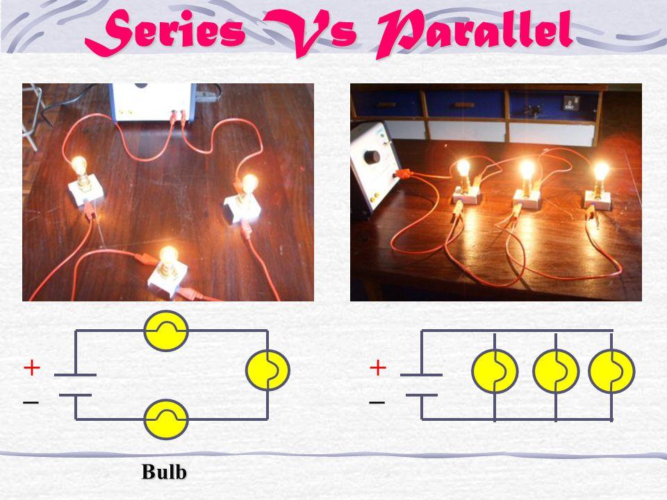 Series Vs Parallel + _ Bulb + _