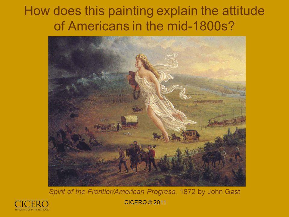 propaganda in american progress a painting by jonathan gast