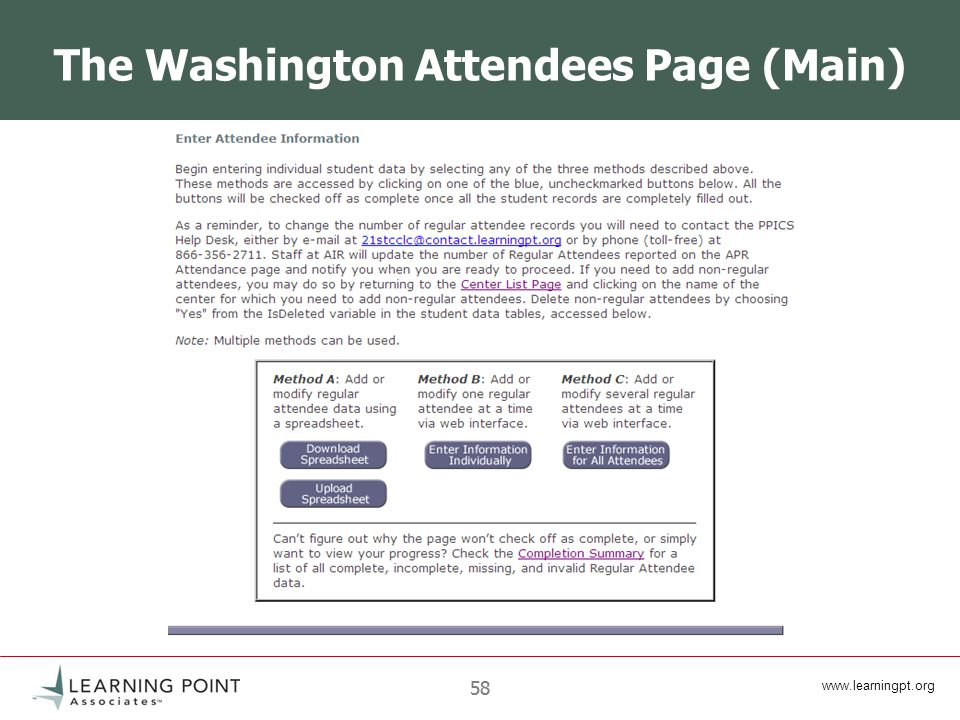 58 The Washington Attendees Page (Main)