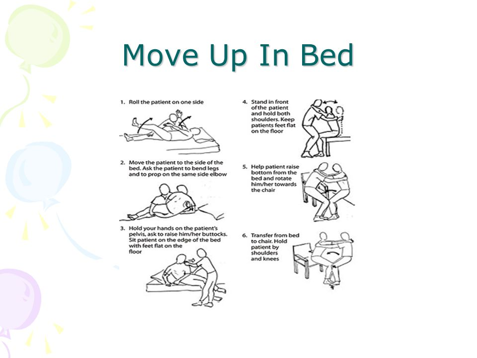 Move Up In Bed