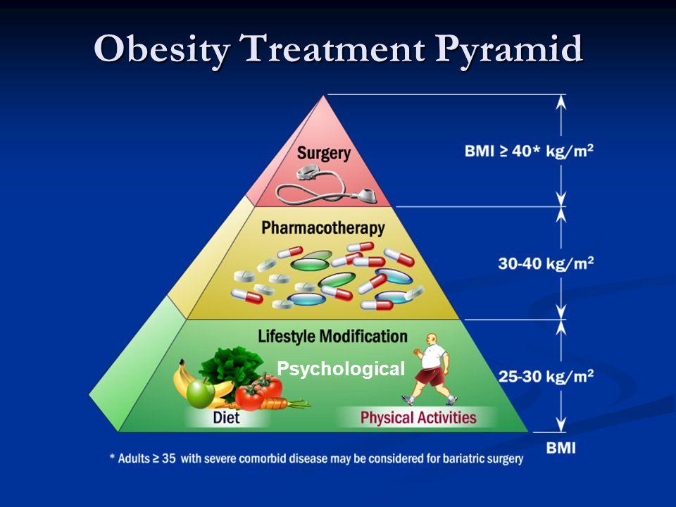 Obesity Treatment Pyramid Psychological
